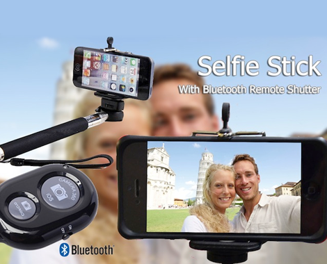 Wireless Bluetooth® Selfie Stick Classic with Remote Shutter