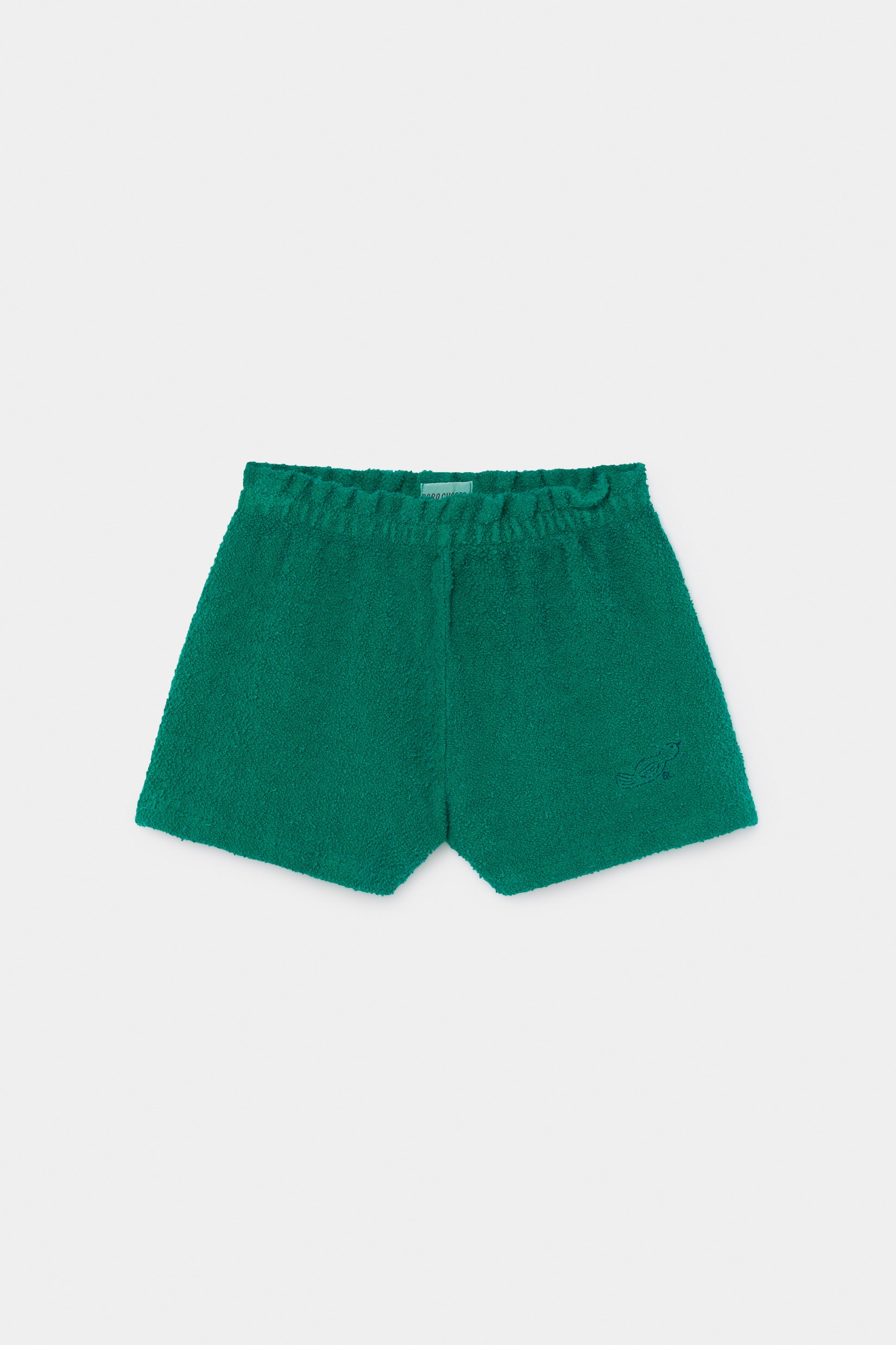 Bobo Choses Green Felpa Shorts