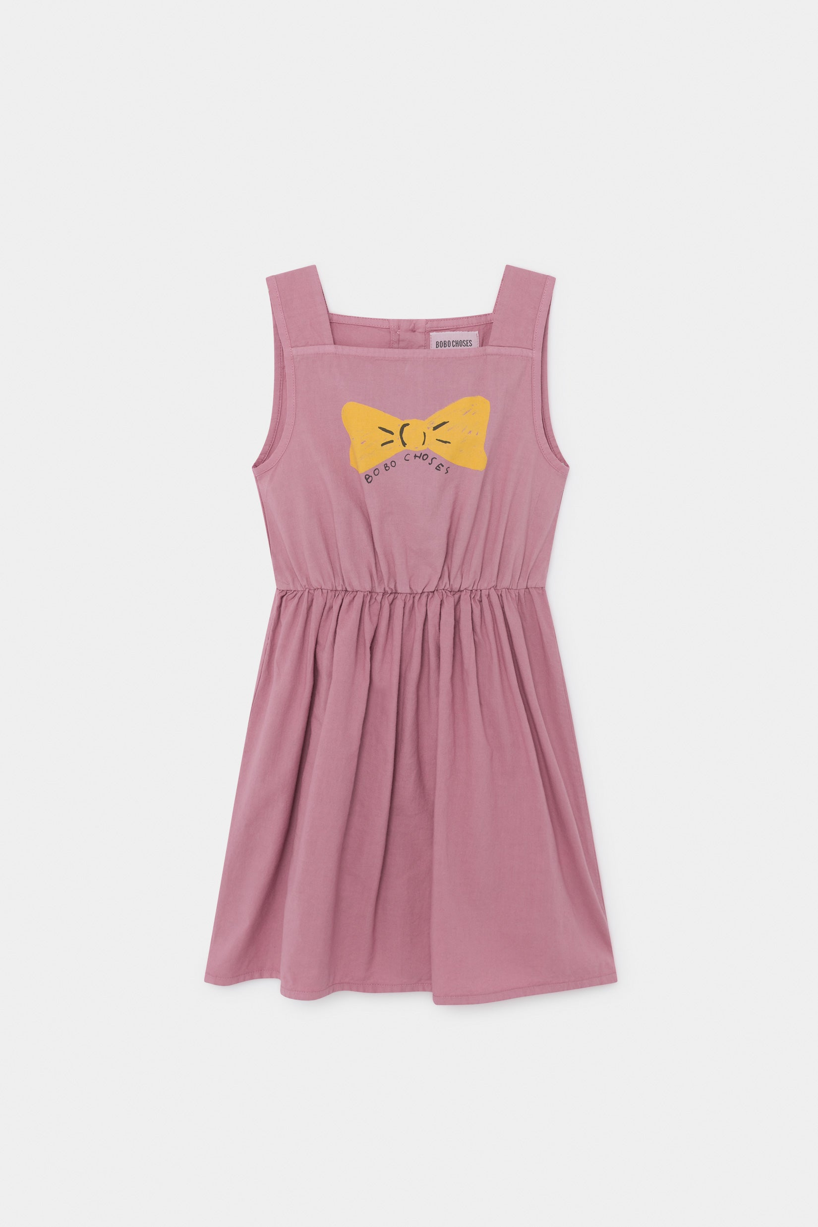 Bobo Choses Bow Woven Dress