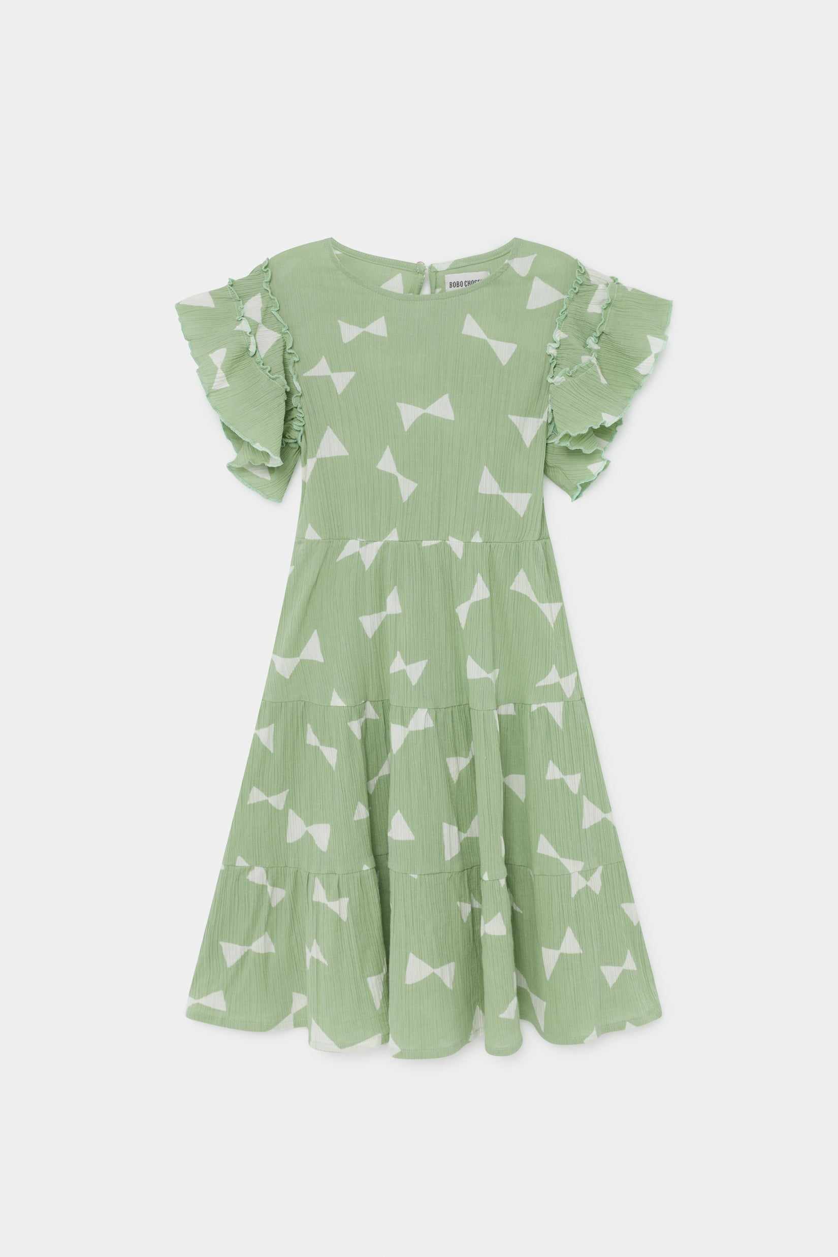 Bobo Choses All Over Bow Flamenco Dress