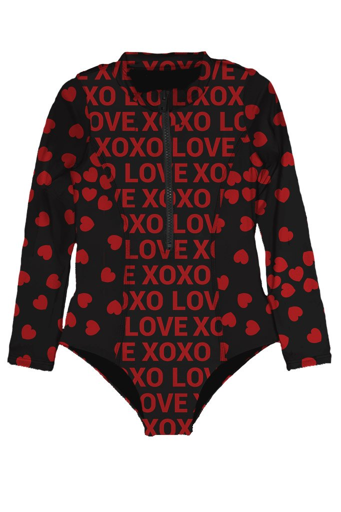 Submarine Long Sleeved One Piece - XOXO