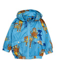Mini Rodini Cool Monkey Sporty Jacket - Light Blue