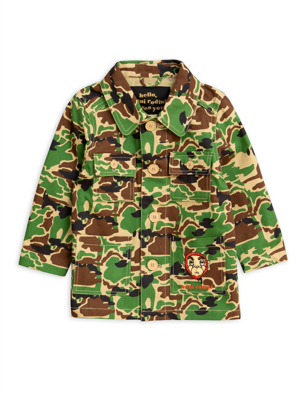 Mini Rodini Safari Jacket - Green