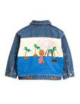 Mini Rodini Sea Monster Denim Jacket