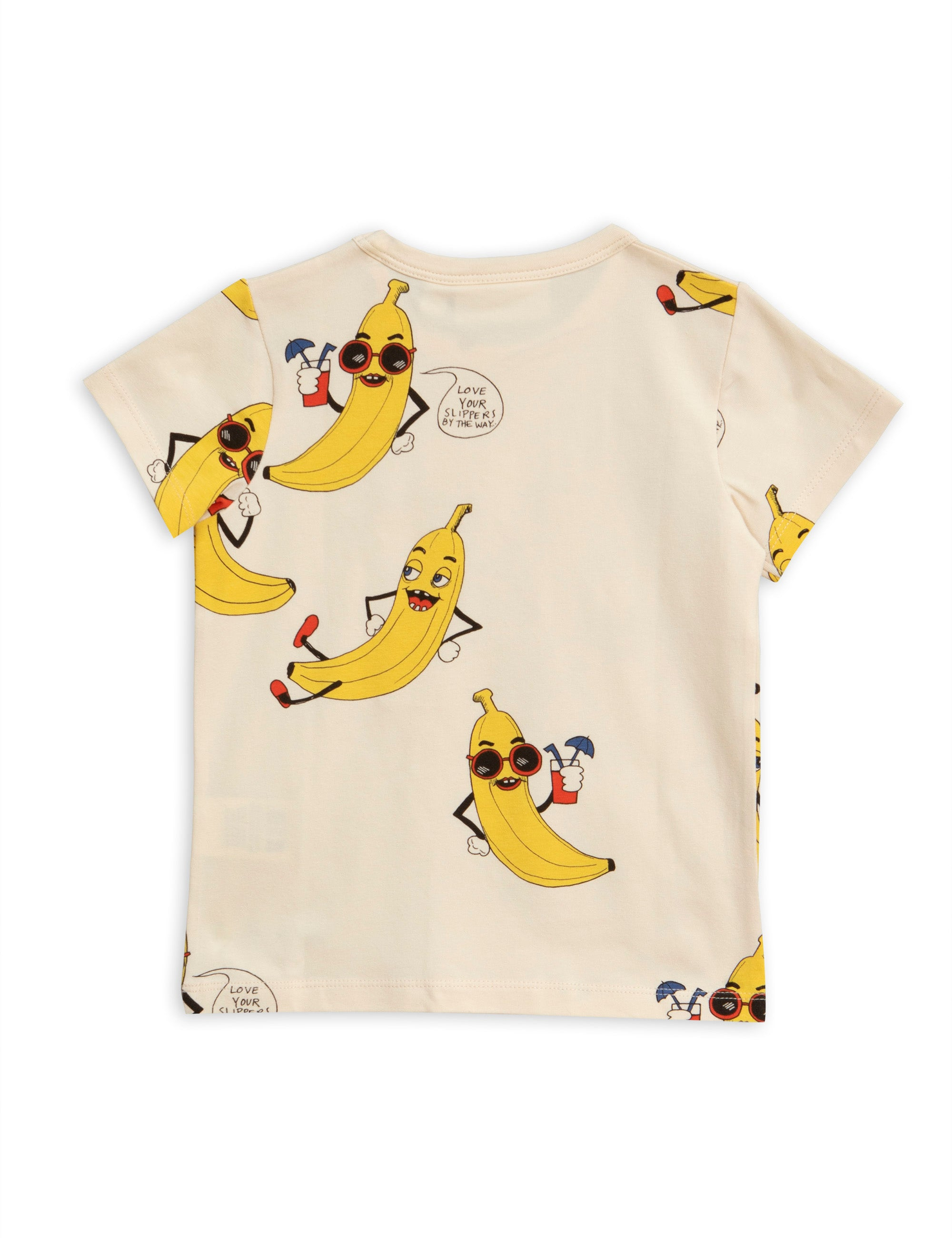 Mini Rodini Banana Tee - Off White