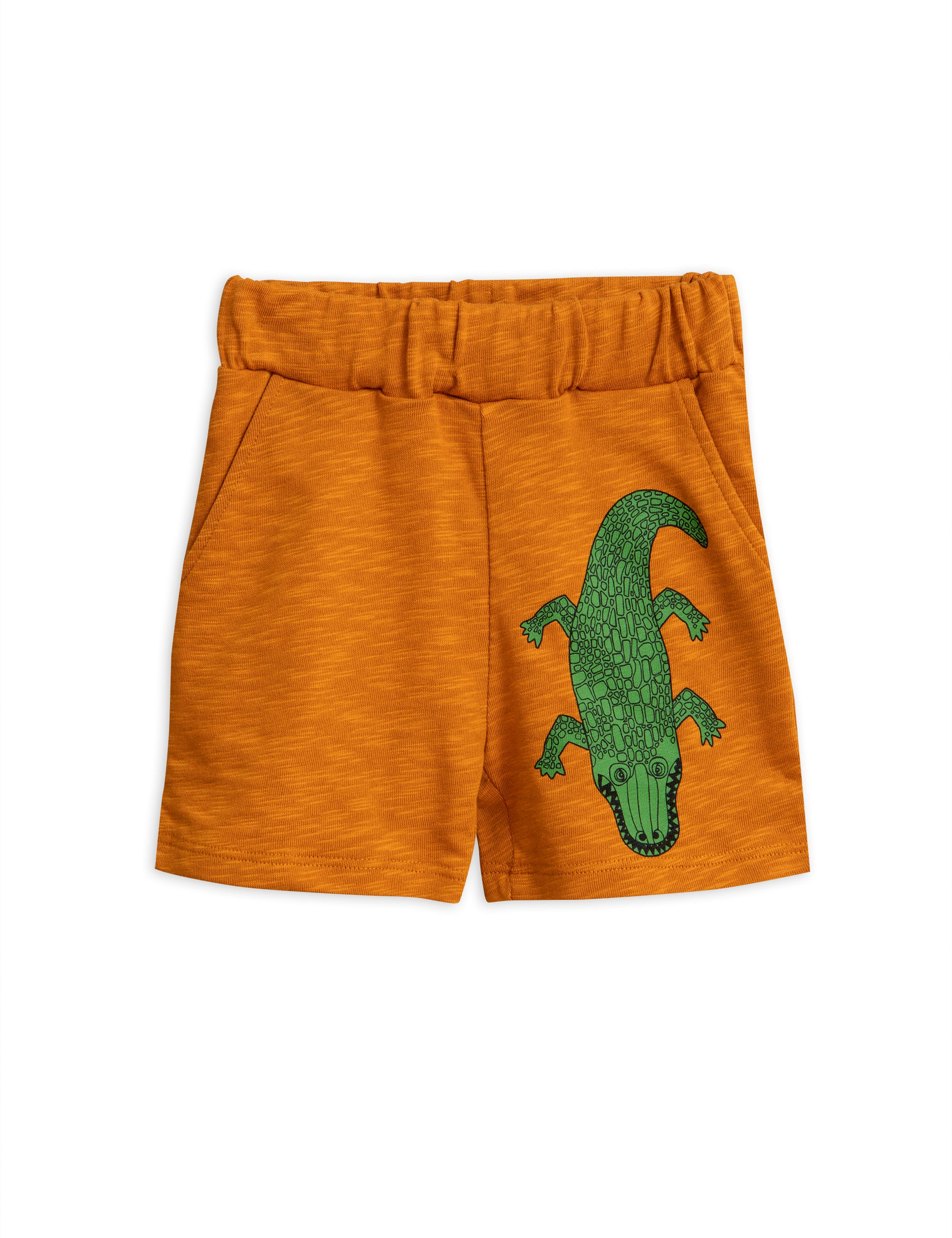 Mini Rodini Crocco Sweatshorts - Brown