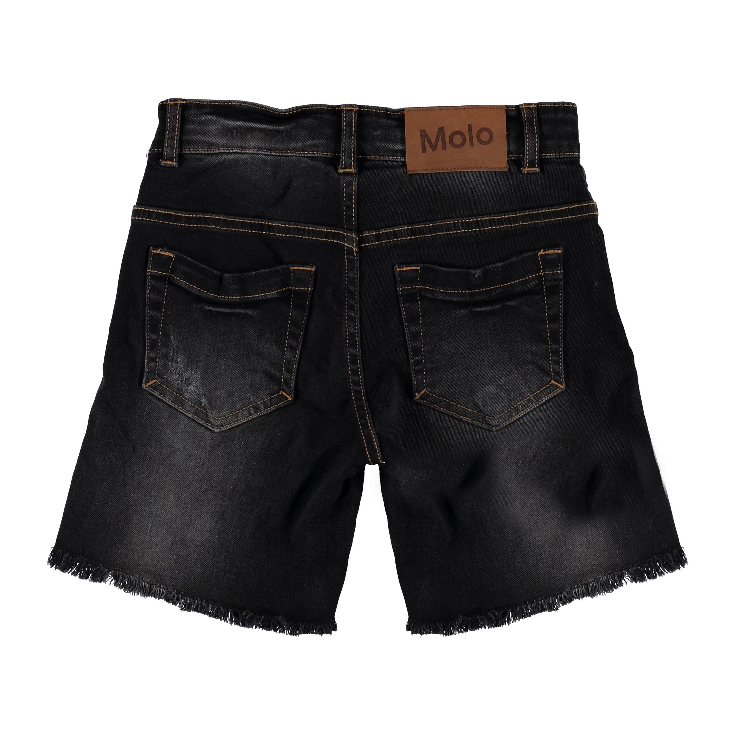Molo Avian Shorts - Washed Black