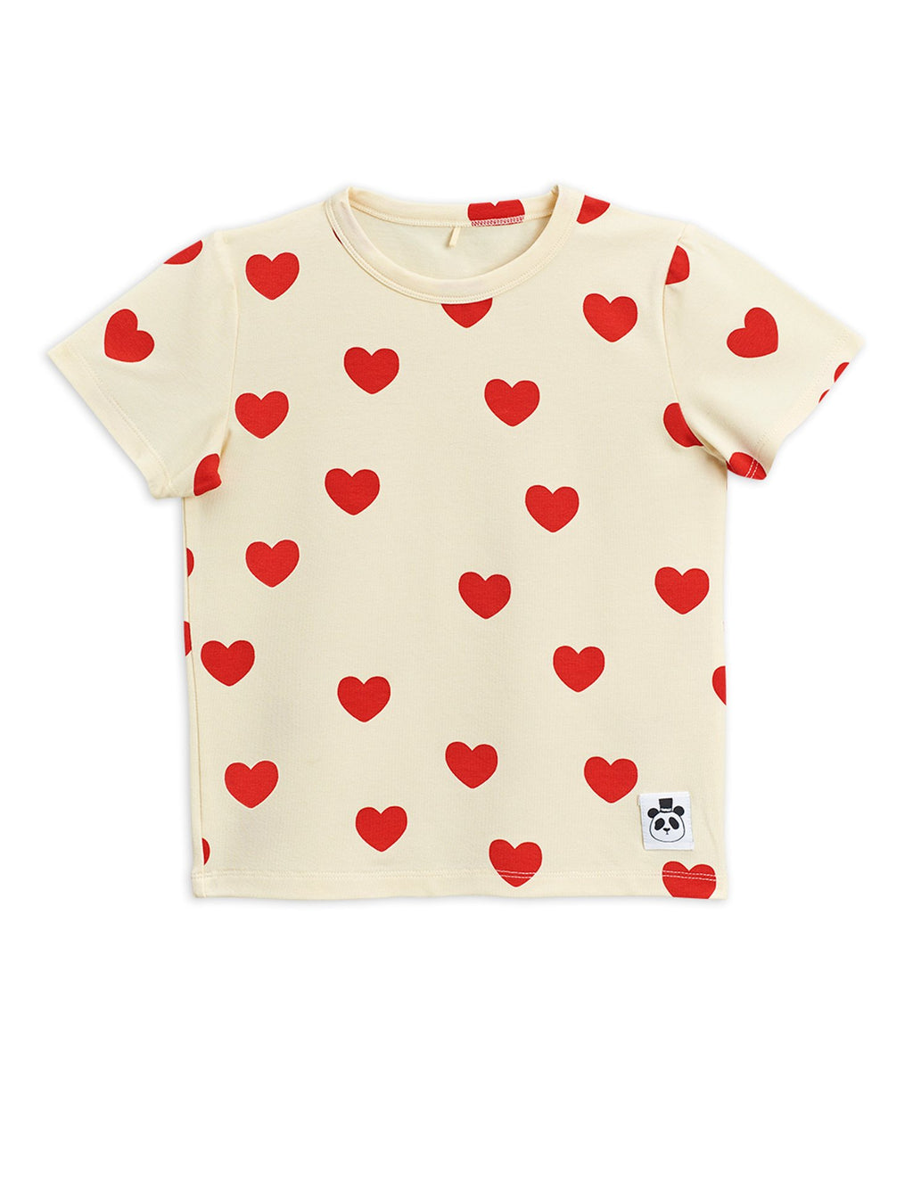 Mini Rodini Hearts Short Sleeve Tee