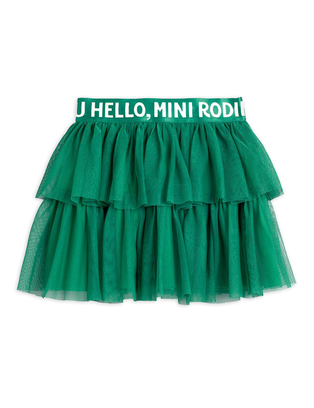 Mini Rodini Tulle Skirt - Green