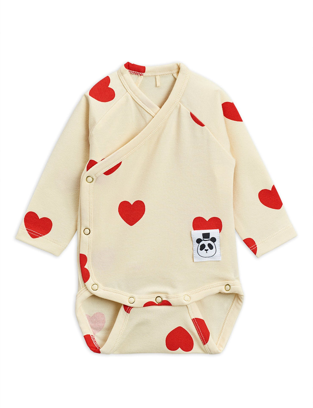 Mini Rodini Hearts Wrap Bodysuit