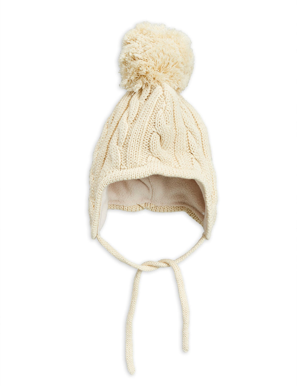 Mini Rodini Cable Knitted Baby Hat