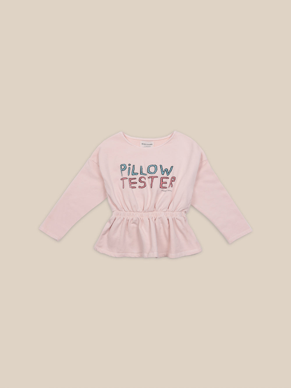 Bobo Choses Pillow Tester Girls Sweatshirt