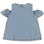 Molo Refas Top - Summer Wash Indigo