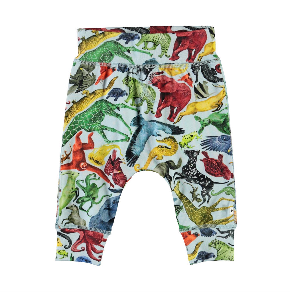 Molo Sammy Pant - Colourful Animals