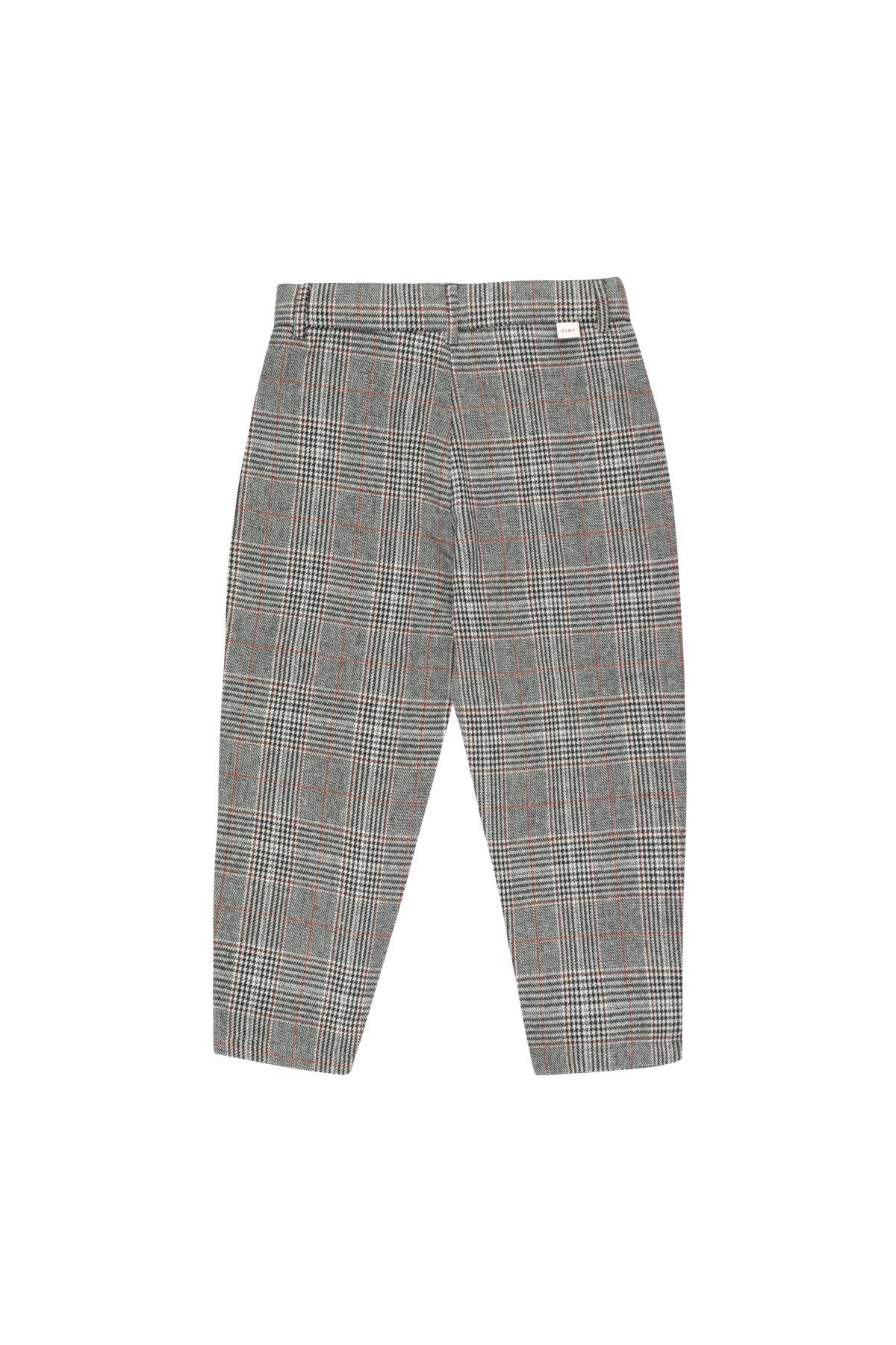 Tiny Cottons Tweed Pleated Pant - Plaid