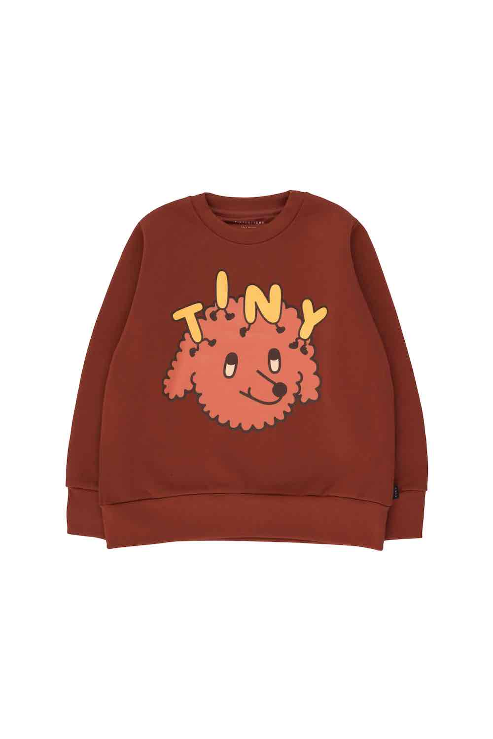 Tiny Cottons Tiny Dog Sweatshirt - Dark Brown/Sienna