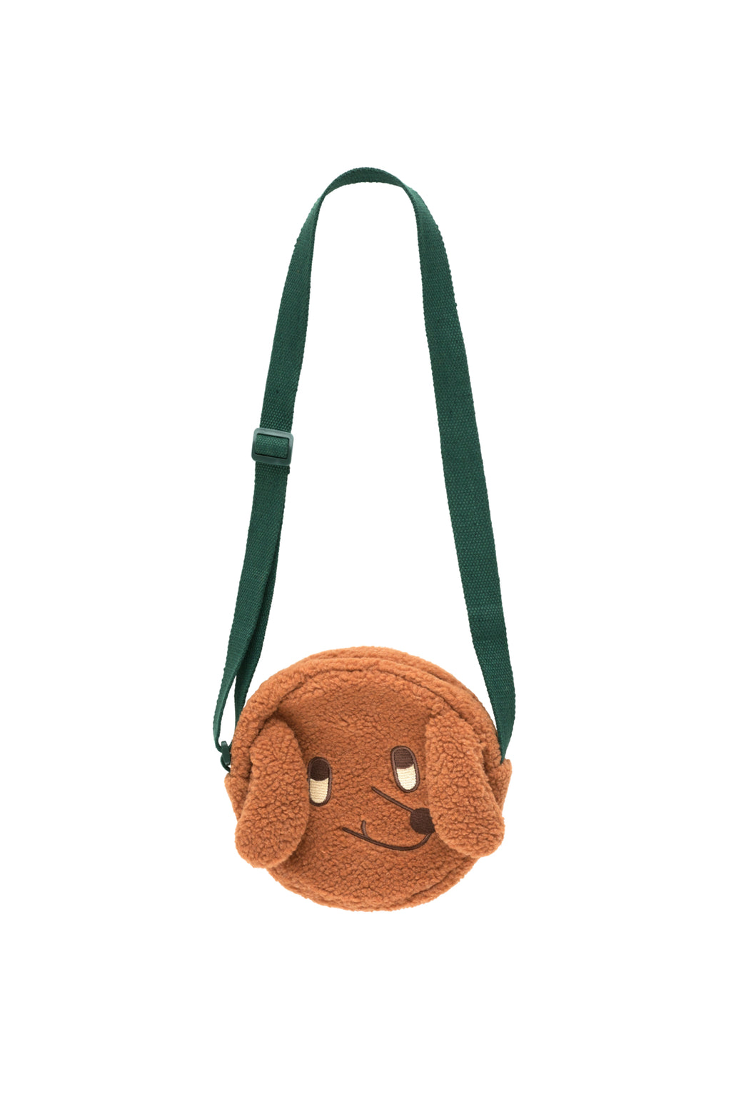 "Tiny Cottons ""Dog"" Sherpa Bag - Brown"