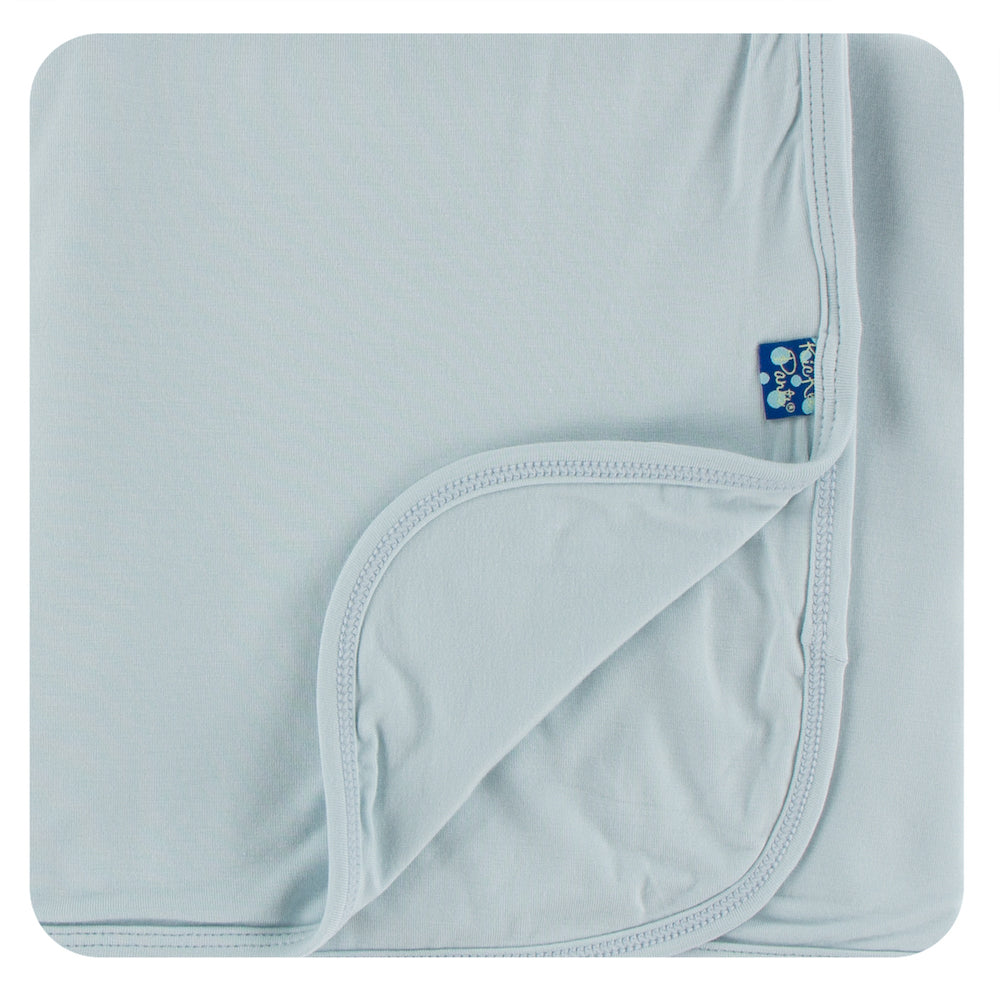 Kickee Pants Solid Swaddling Blanket - Illusion Blue