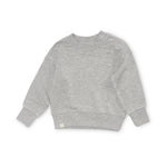Bacabuche Terry Fleece Pullover - Heathered Grey