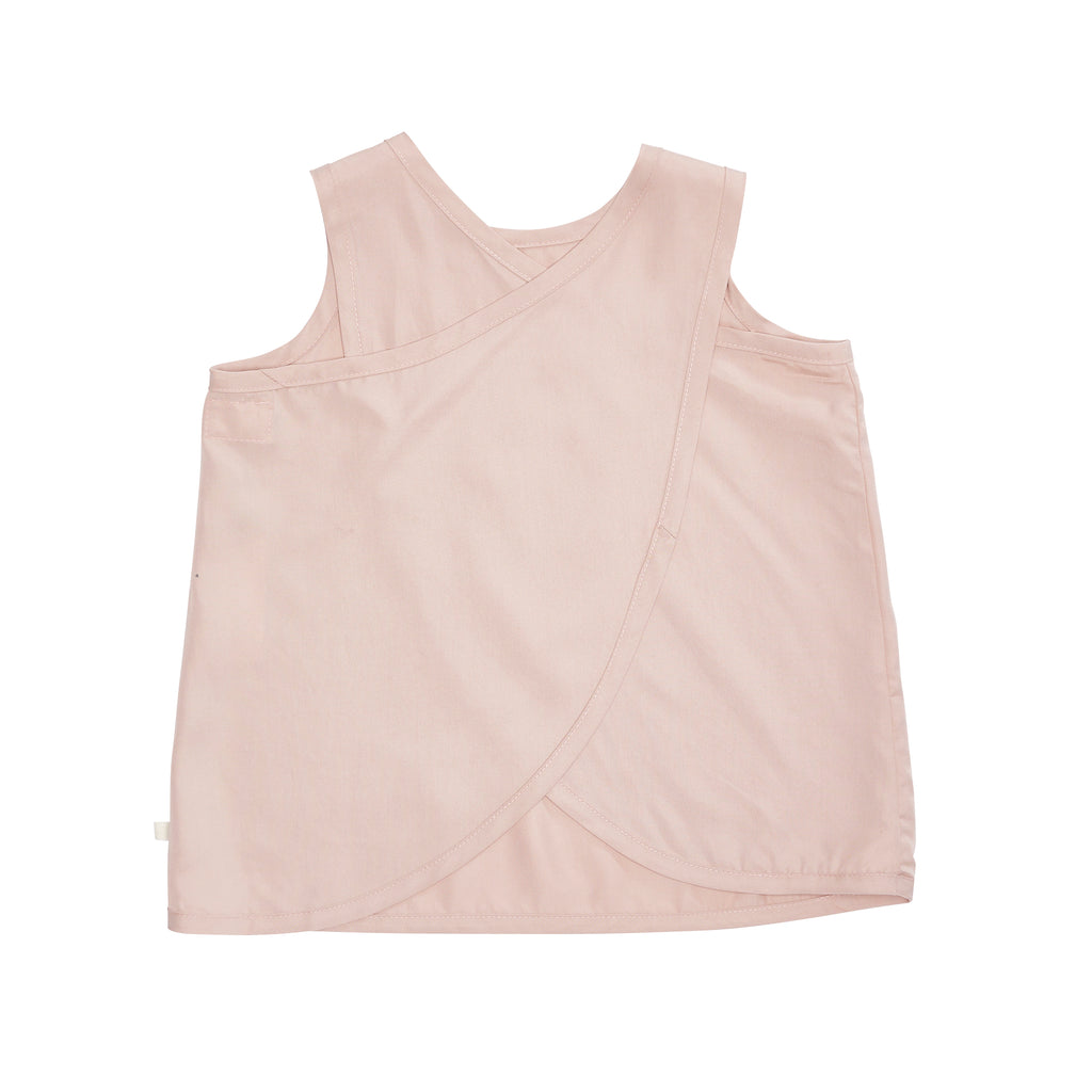 Bacabuche Cross Back Tank - Suede Pink