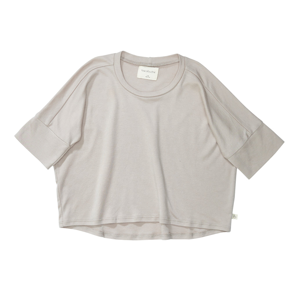 Bacabuche Oversized Jersey Tee - Fawn