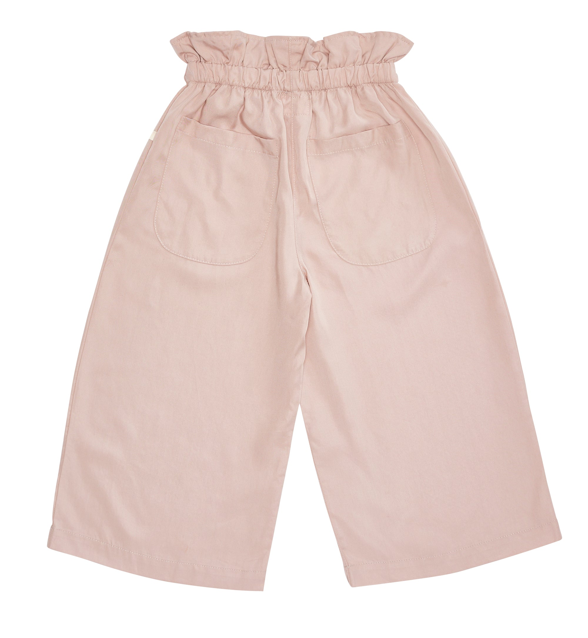 Bacabuche Paper Bag Trouser - Suede Pink