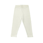 Bacabuche Rib Legging - Cream