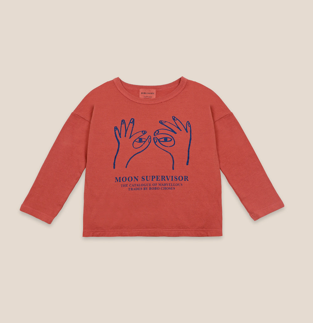Bobo Choses Moon Supervisor Long Sleeve Tee