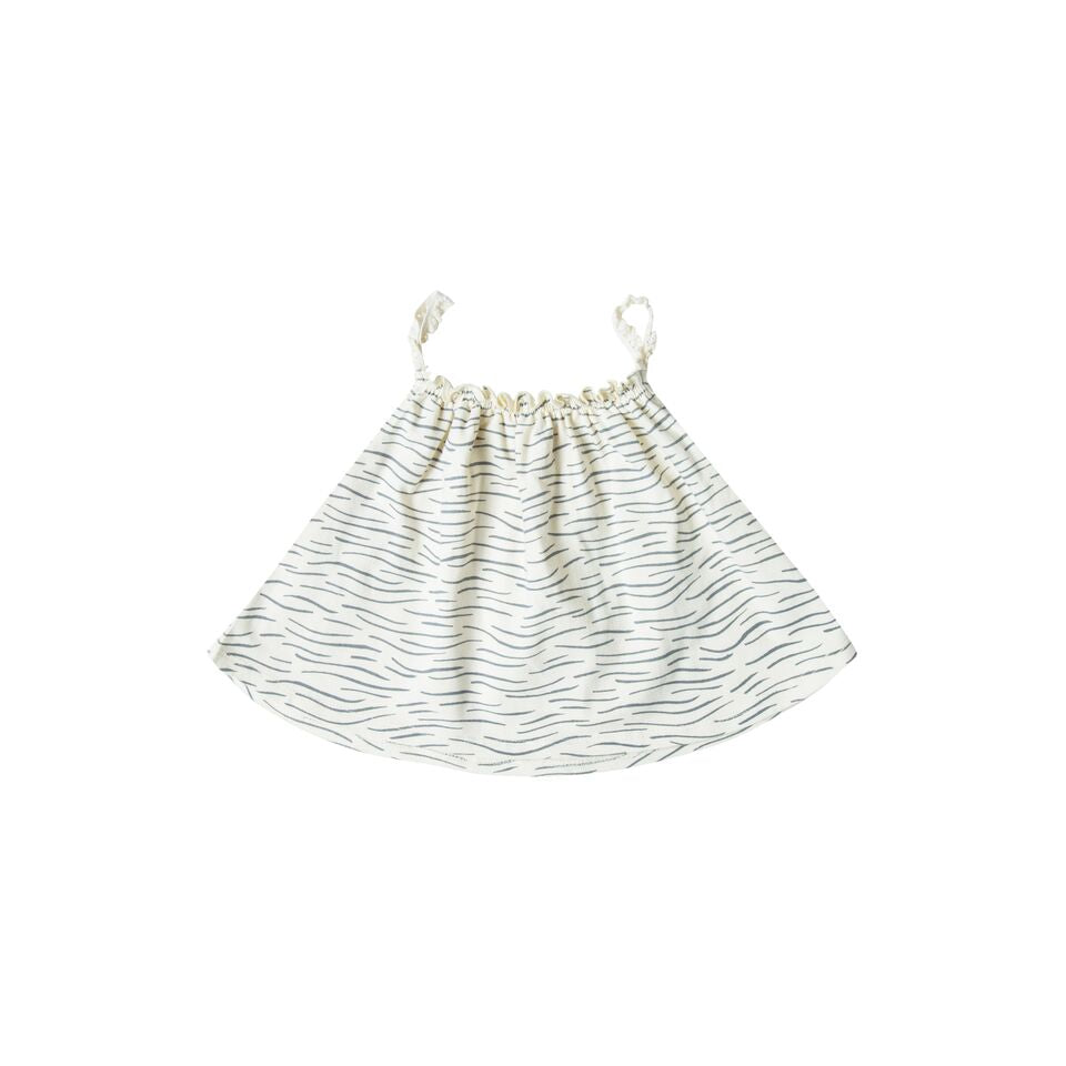 Rylee + Cru Ocean Baby Swing Top