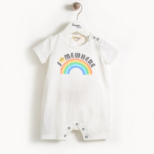 Bonnie Mob Costa Motif Shorty Playsuit - Somewhere over the Rainbow