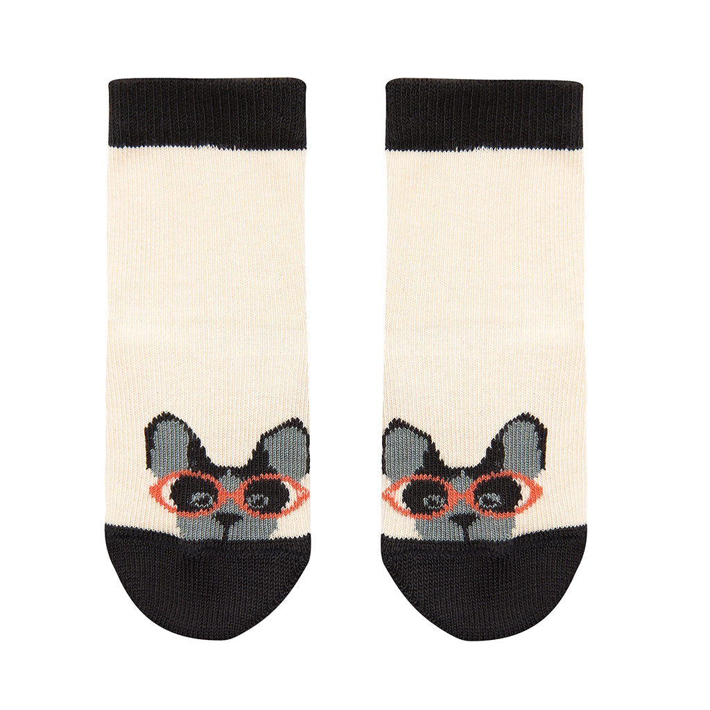 Bonnie Mob Baby Specky Socks - Dog Face