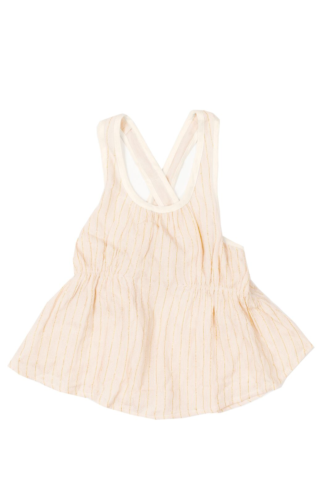 Bowie James Aquarius Tank Top - Cream
