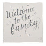 Coveted Things Welcome to the Family Organic Swaddle Scarf