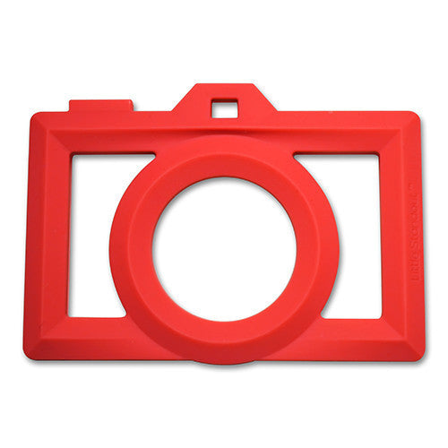 Little Standout Camera Silicone Teether