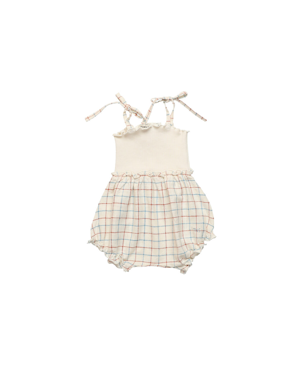 The New Society Dylan Baby Romper - Window Check