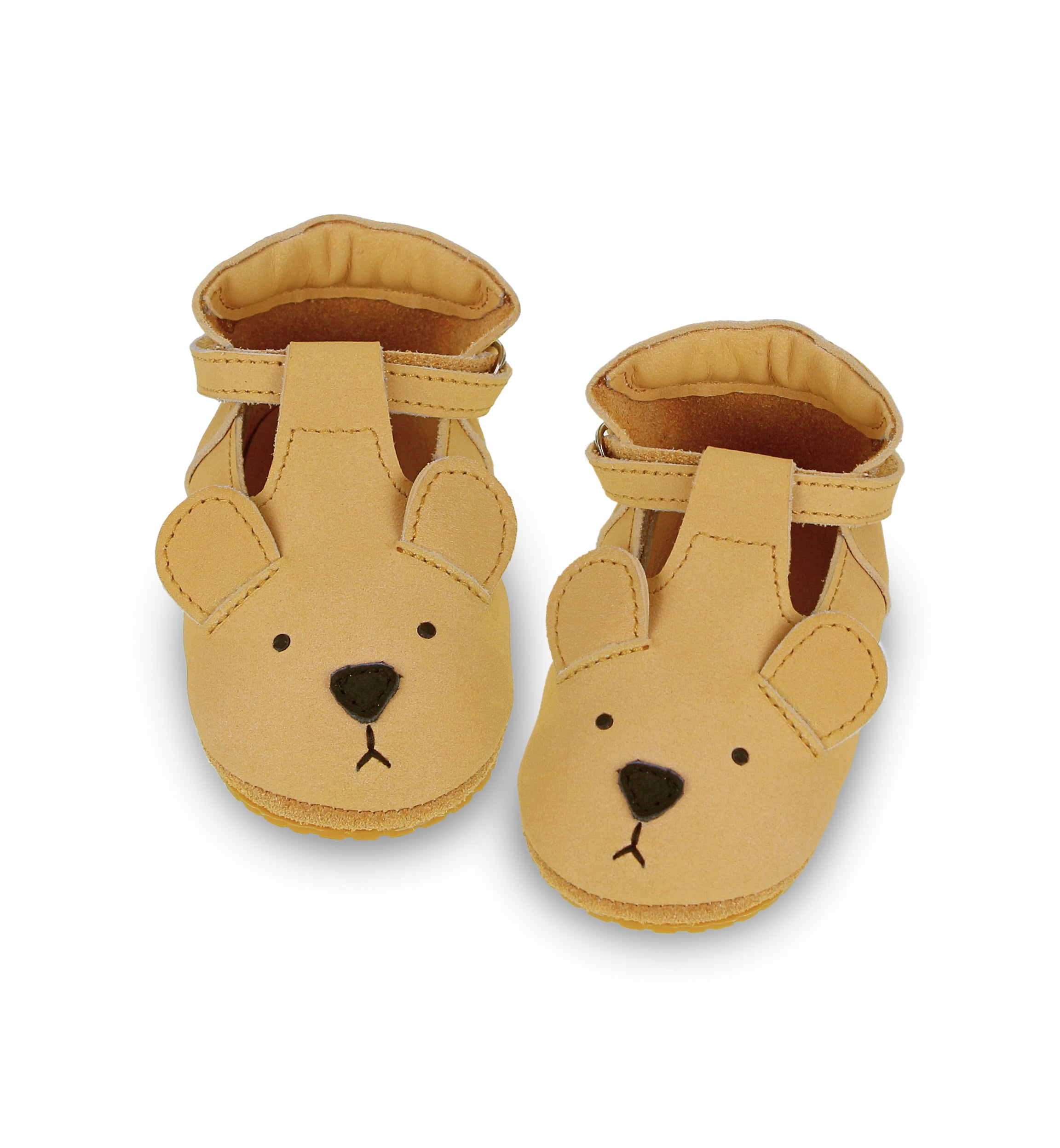 Donsje Spark Velcro Shoes - Bear
