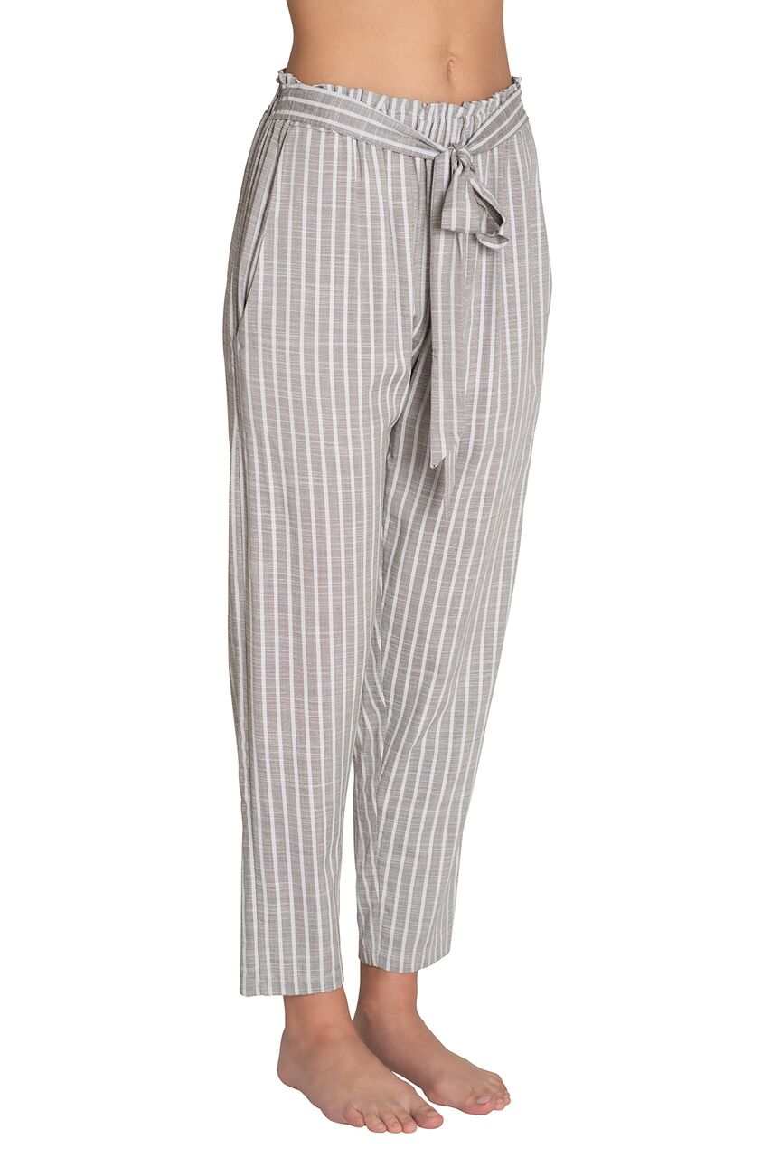 Eberjey Amalfi Stripe Hudson - Faded Black/White