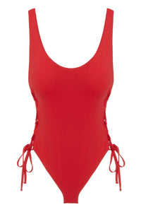 Eberjey So Solid Mila One Piece - Racing Red