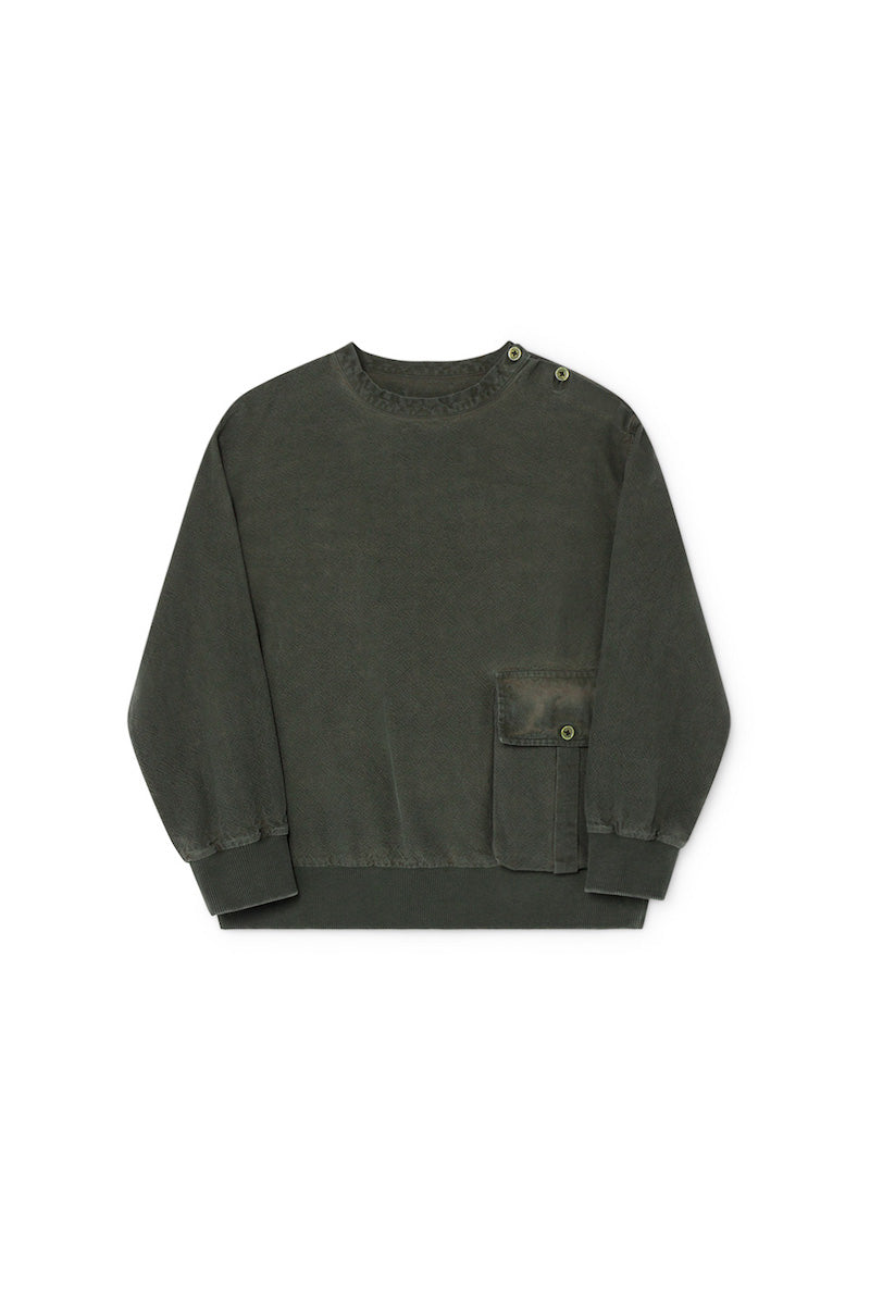 Little Creative Factory Work Jersey - Dark Green