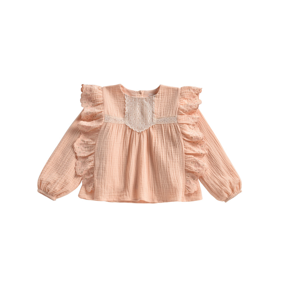 Louise Misha Lisa Blouse - Blush