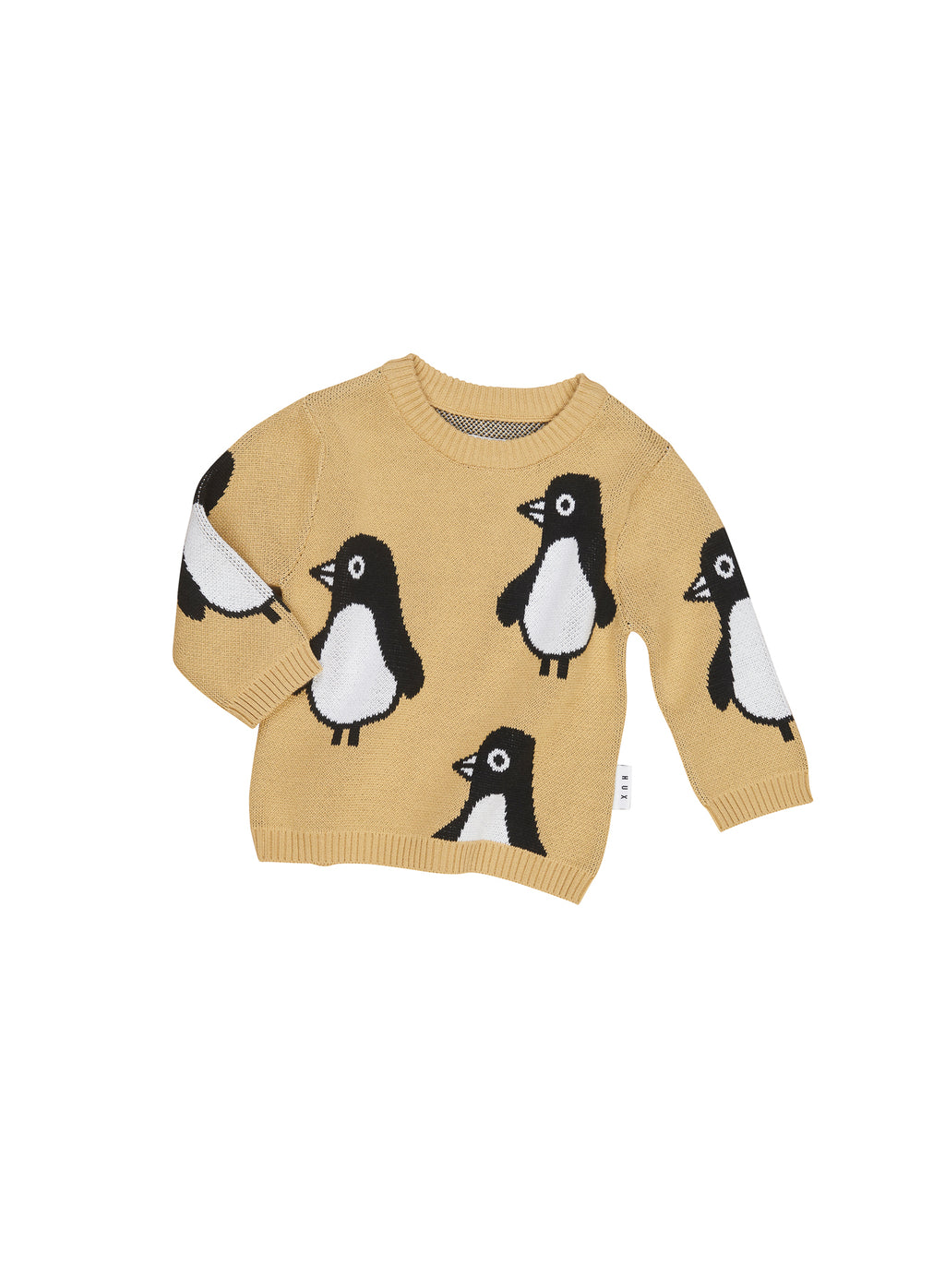 Huxbaby Penguin Knit Jumper