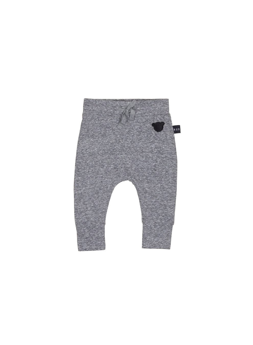 Huxbaby Charcoal Slub Drop Crotch Pant - Charcoal Slub