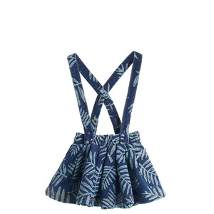Bonnie Mob Hula Stretch Denim Flared Skirt