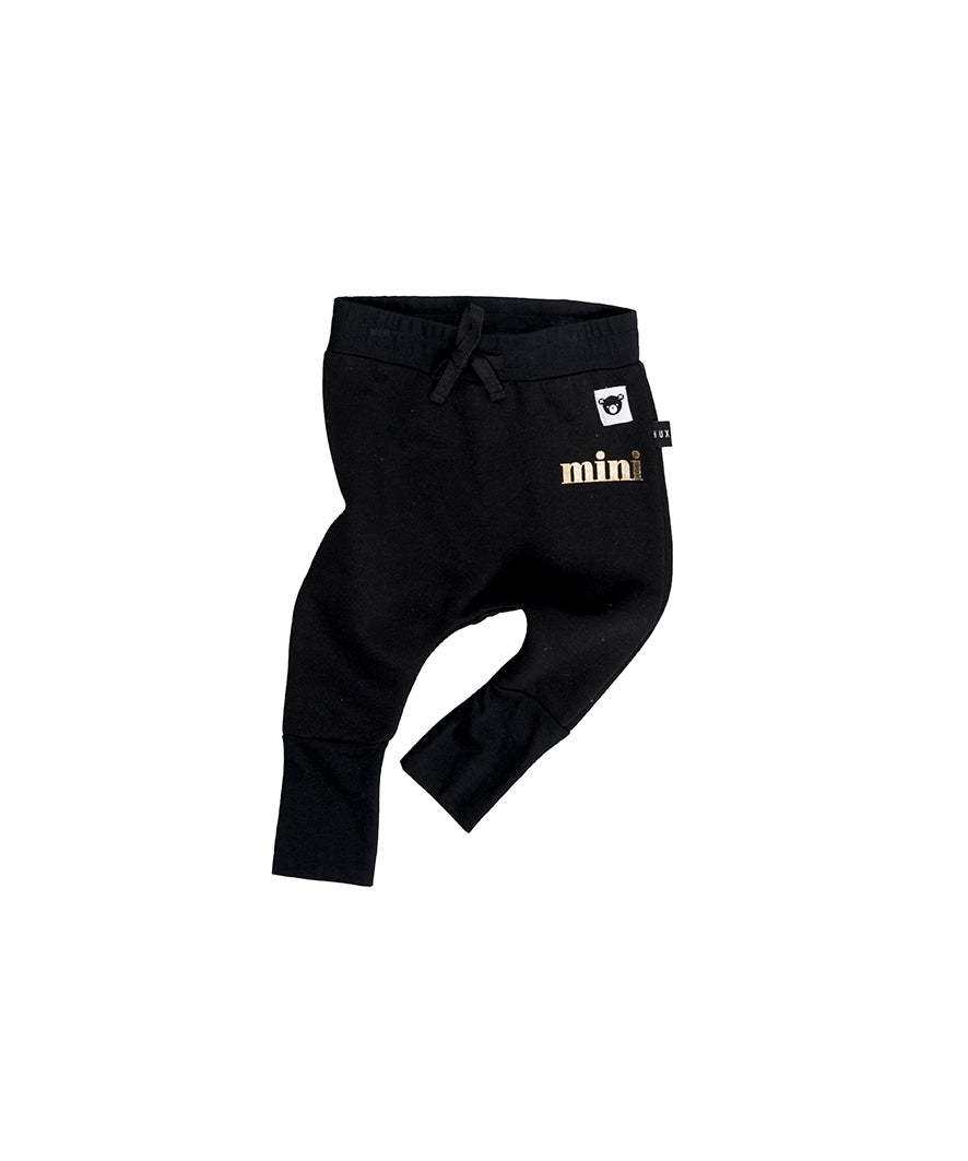 Huxbaby Jersey Drop Pant - Black