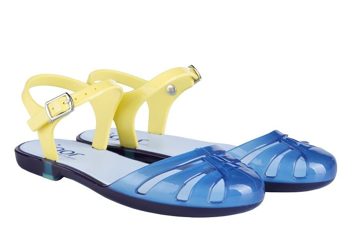 Igor Mara Mini Sandals - Navy-Yellow