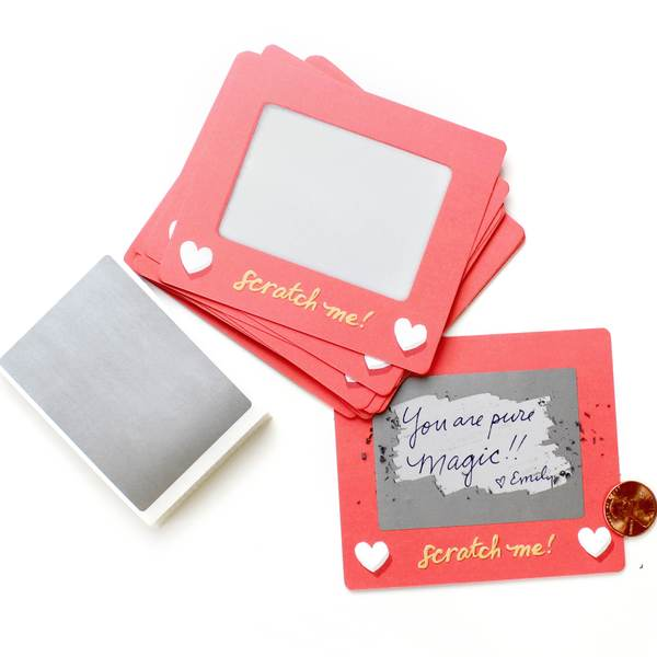 Inklings Paperie Scratch-off Lunchbox Notes - Edition 4