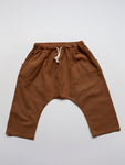 The Simple Folk Linen Trouser - Rust