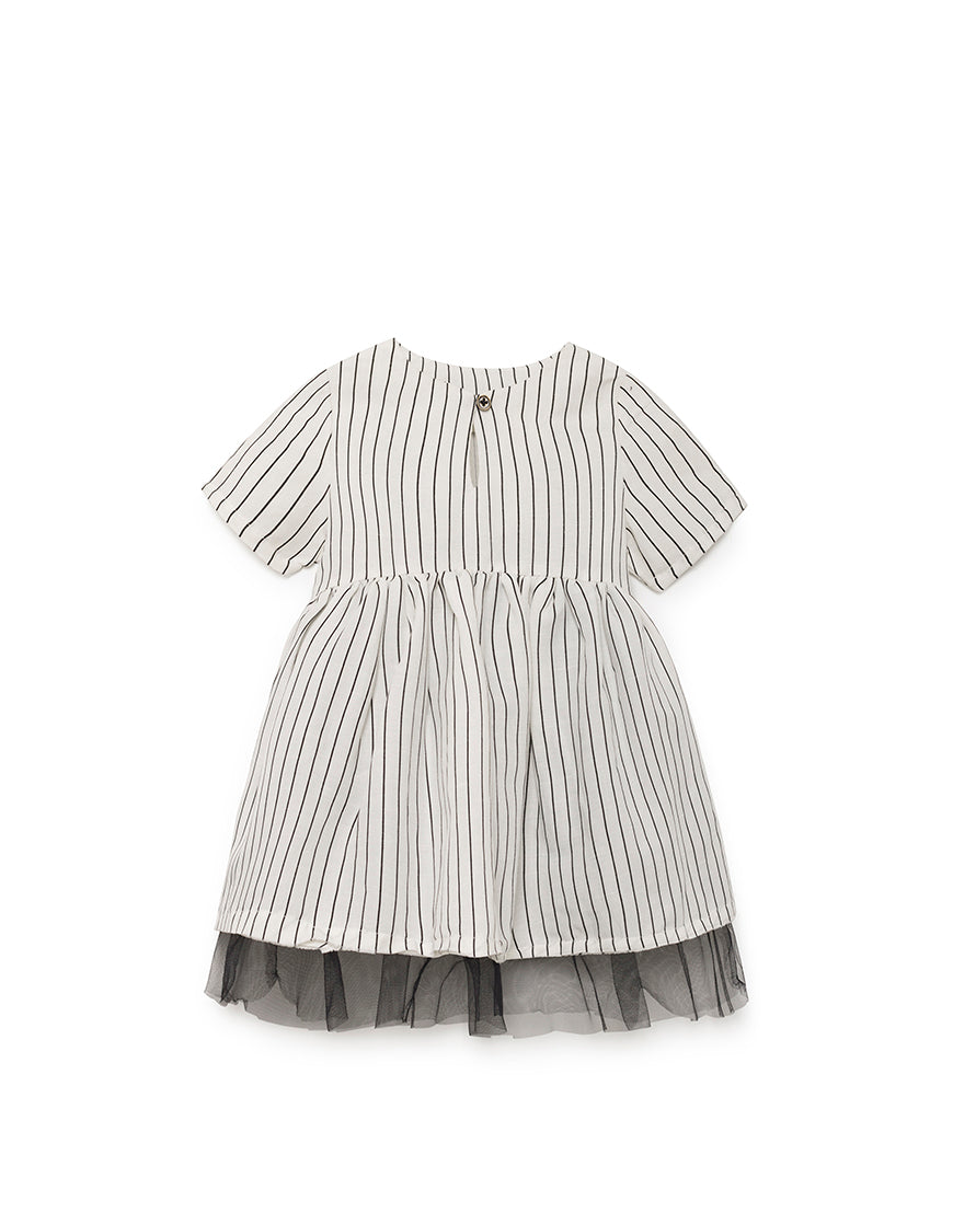 Little Creative Factory Tap Baby Dress - White