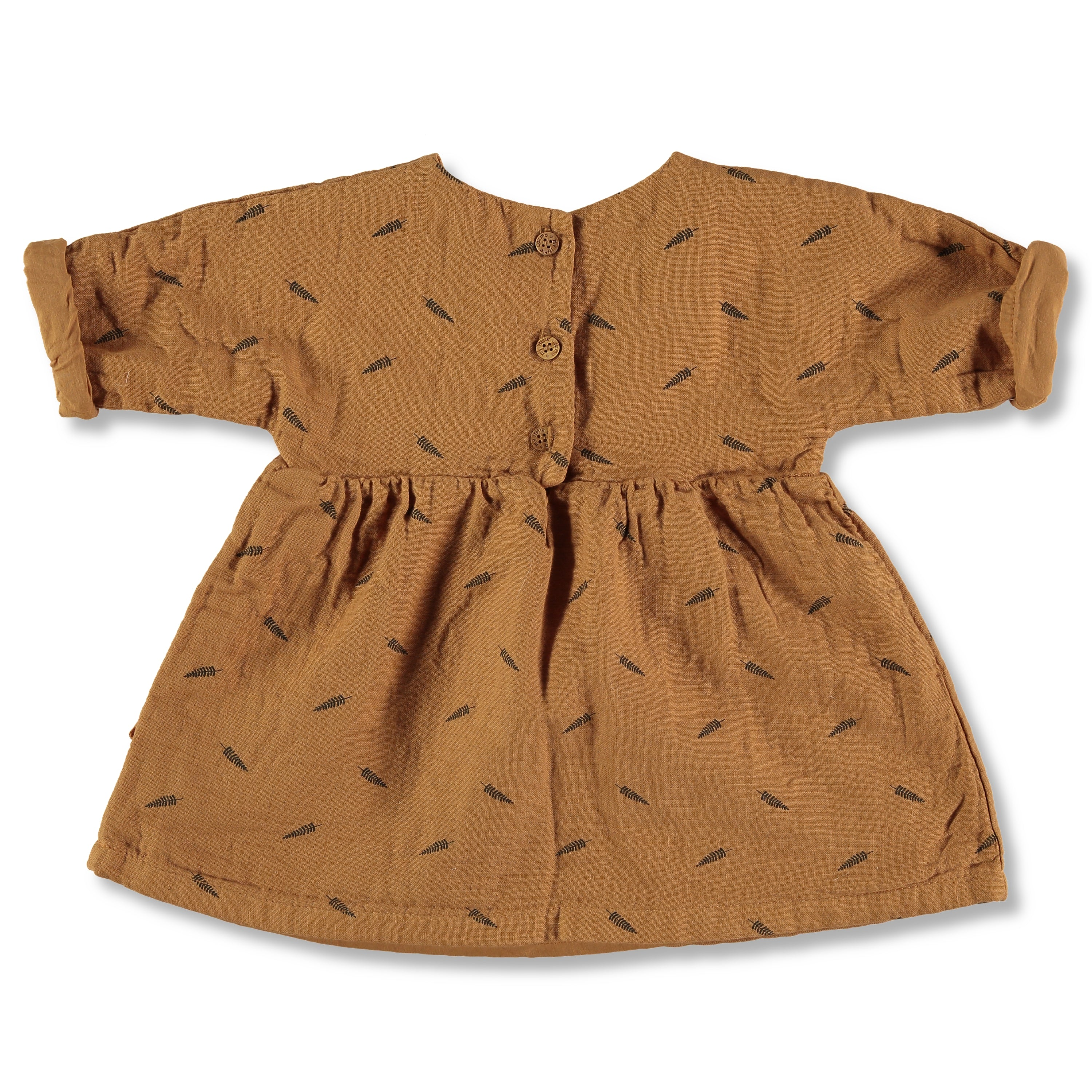 My Little Cozmo Nature Dress - Caramel