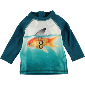 Molo Scary Fish Rash Guard